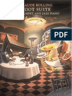 Claude Bolling - Toot Suite for Trumpet and Jazz Piano