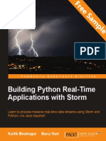 Building Python Real-Time Applications with Storm - Sample Chapter