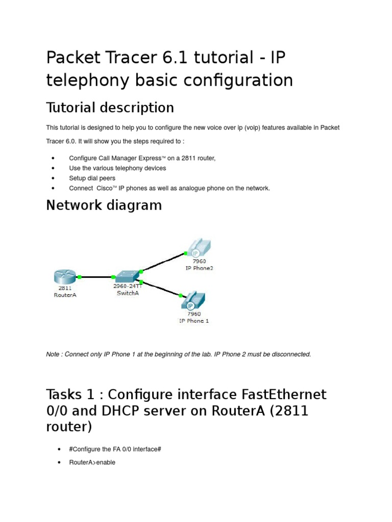 Ip Phone Configuration On Cisco Router