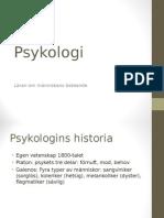 Psykologi Gg Lektion 1
