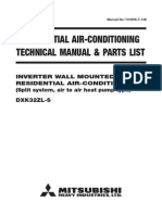 Mitubishi AirCon TechManual DXK32ZL S
