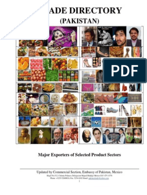 Directory of Major Exporters of Selected Product Sector