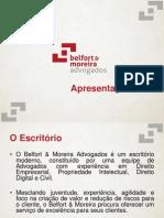 Apresentação Belfort & Moreira Advogados 2015
