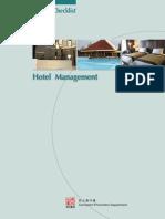 Hotel Management - Best Practice Checklist