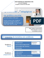 FE Tendencias Pedagogicas