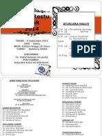 Buku Program Majlis Restu