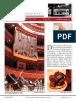 Prospectus Dobson Pipe Organ Builders Ltd