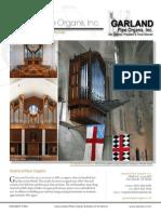 Prospectus Garland Pipe Organs Inc