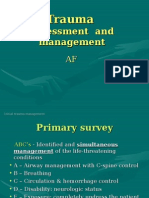 Initial Trauma Assessment and Management (2)