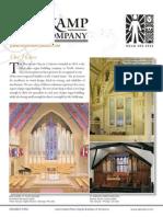 Prospectus Holtkamp Organ Company