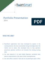 RoamSmart - Portfolio Presentation - April 2014