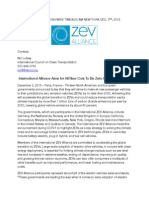 ZEV Alliance COP21 press release, 3 December 2015