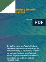 Paisajes Culturales y Manejo Territorial