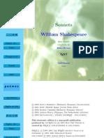 Shakespeare, William - Sase sonete