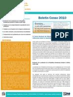Boletin Censo 2010 n º 7
