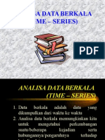 Analisa Data Berkala (Time – Series)