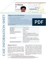 Case info sheet - Hussein Hassan Oneissi