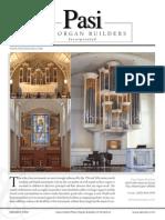 Prospectus Pasi Organ Builders Incorporated