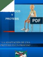 Amputados y Protesis