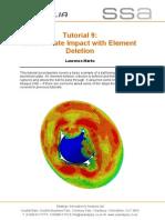 Abaqus Tutorial 9 Ball Plate Impact