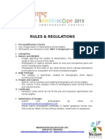 Rules & Guidelines