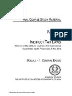 ca final indirect tax laws