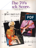 The 70s Rockscore