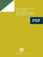 Escalona Ríos, Lina, Coord - Las Competencias en El Perfil Bibliotecológico en América Latina