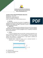Relatório IV - Dilatação