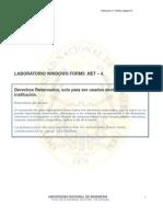 LABORATORIO WINDOWS FORMS .NET – 4