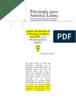 Psicología en México Hasta 1990