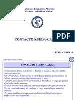 Contacto Rueda Carril
