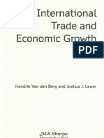 Internat Trade and Econ Growth Chapt 5
