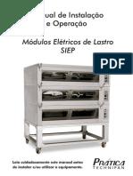 Manual Forno Modular