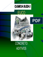 Aditivos Para Concreto- Quimica Suiza