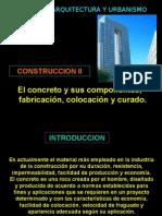 El Concreto Sus Componentes y Fabricacion
