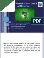 Comunidad Economica Africana Dipos