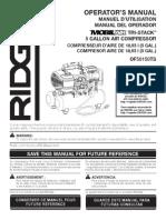 Compresor RIDGID Tri-Stack 5 Galones