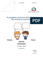coursework speaking activity