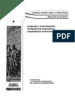 TEMA 1- Competencia Lingüística y Comunicativa. MUESTRA CEDE