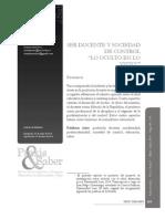 Artículo Pedagogía Saber Uptc 2014