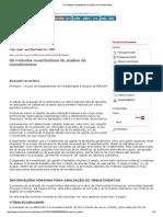 Os Métodos Ouantitativos de Análise de Investimentos