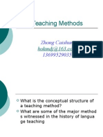 Lecture 2 Teaching Methods