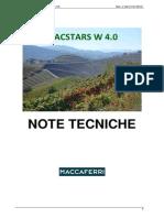 Macstars W 4.0_Note Tecniche_ITA