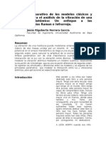 Estudio Comparativo de Los Modelos Clásicos y Cuánticos Para El Análisis de La Vibración de Una Molécula Diatómica