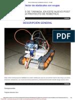 Arma Tu Robot Evasor de Obstáculos (Arduino) - Taringa!