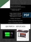 presentacion quimica aplicada  1