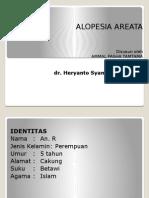 Psikomotor Alopesia Areata