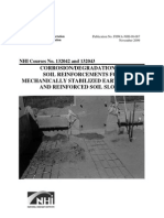 Corrosion MSEW
