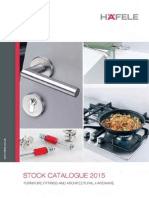 Hafele Stock Catalogue 2015 - 75dpi